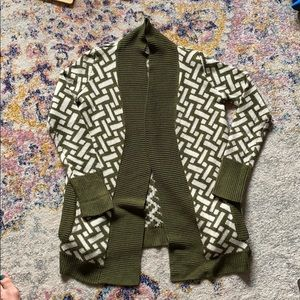 Women's oversized cardigan